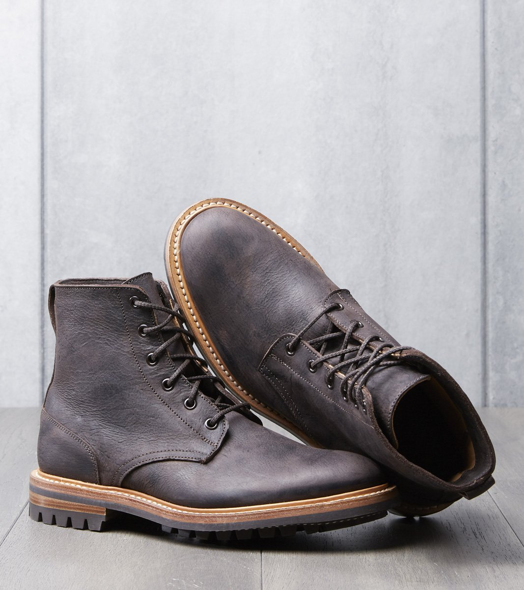 Tricker's Low Leg Logger - Commando | Chocolate Waxy Kudu