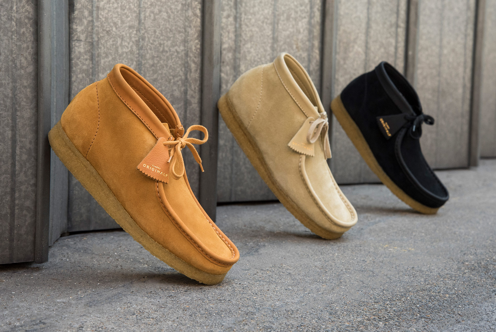 Clarks Wallabee Boot - Janus Butt