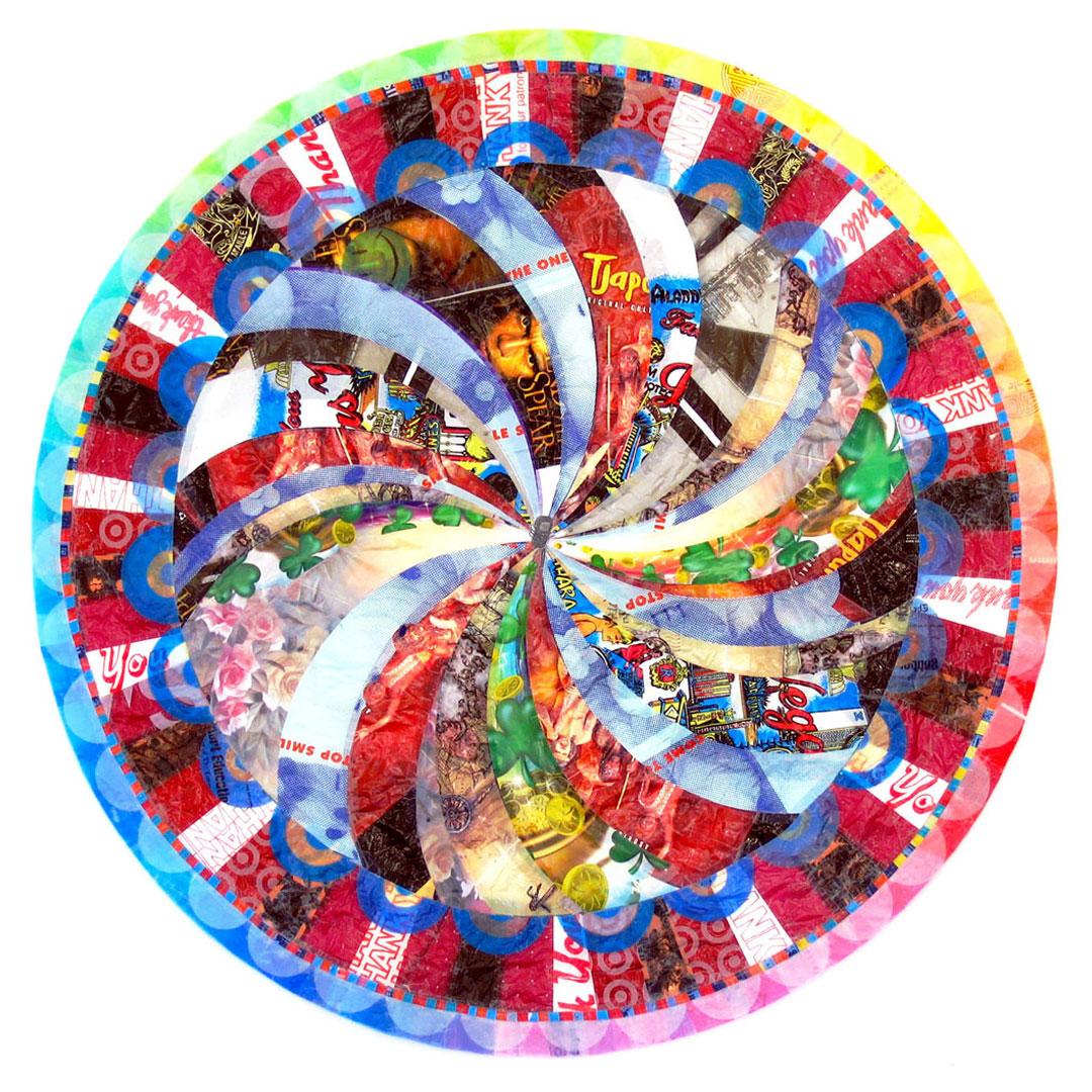 "Lucky Mandala (2007) - 49"" dia."