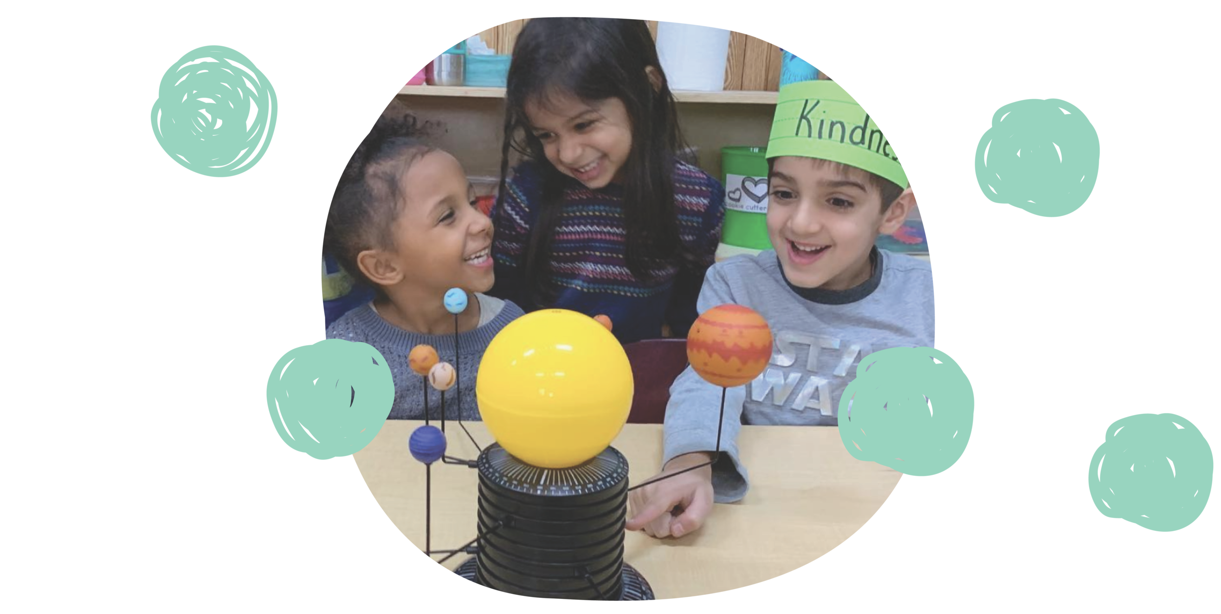Fostering Curiosity - We encourage our children to tinker and create—we teach them to ask many questions through hands-on learning and exploration.
