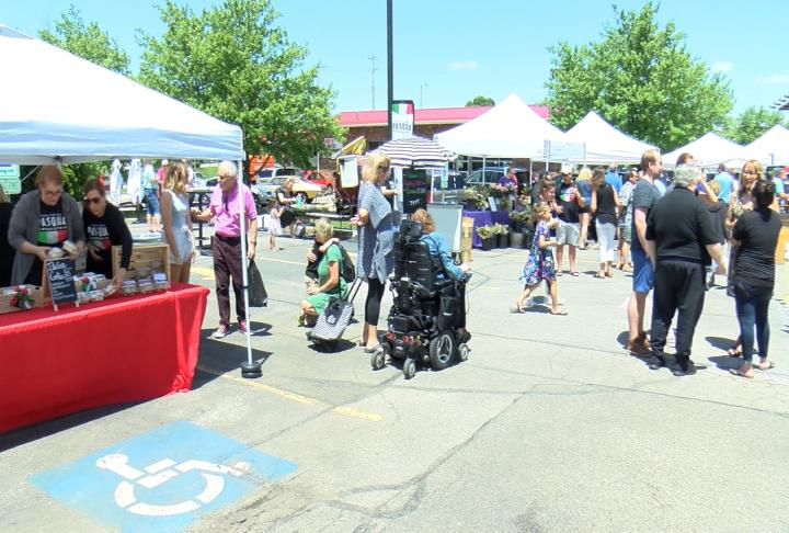 wrex CH 13 - Italian Open-Air Market Opens for Summer Season