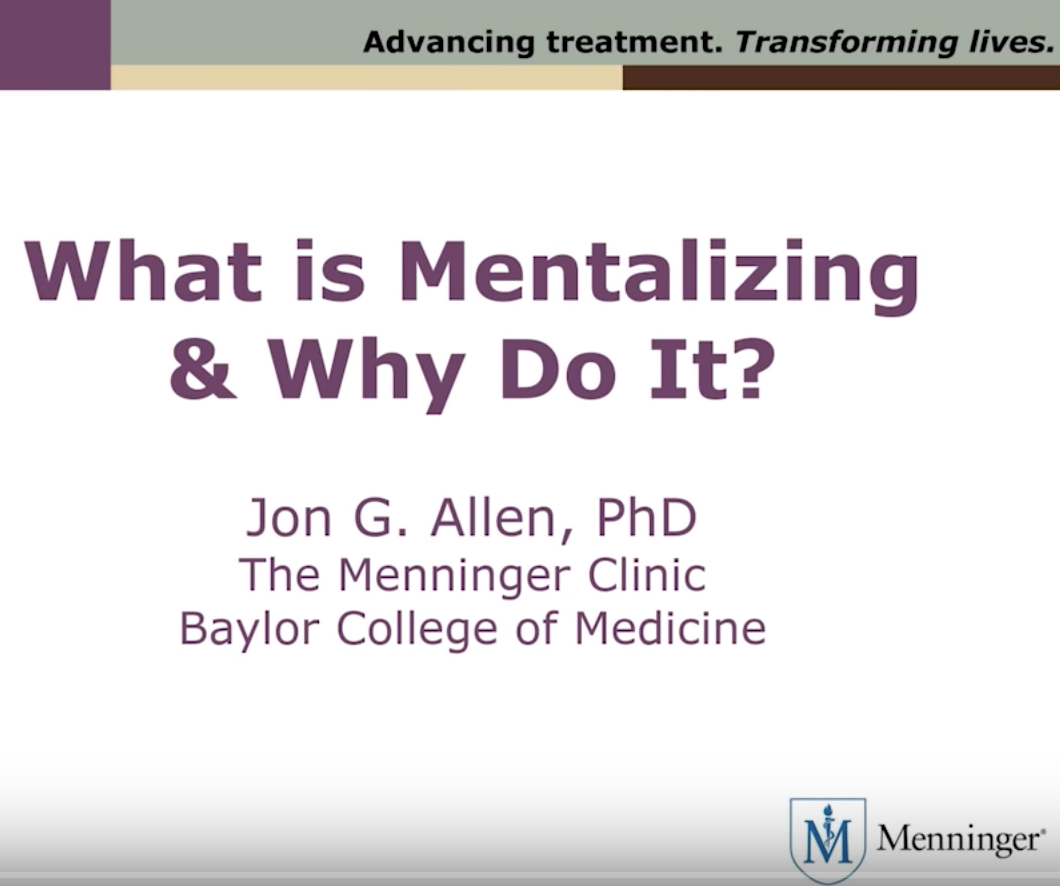 What is Mentalizing
