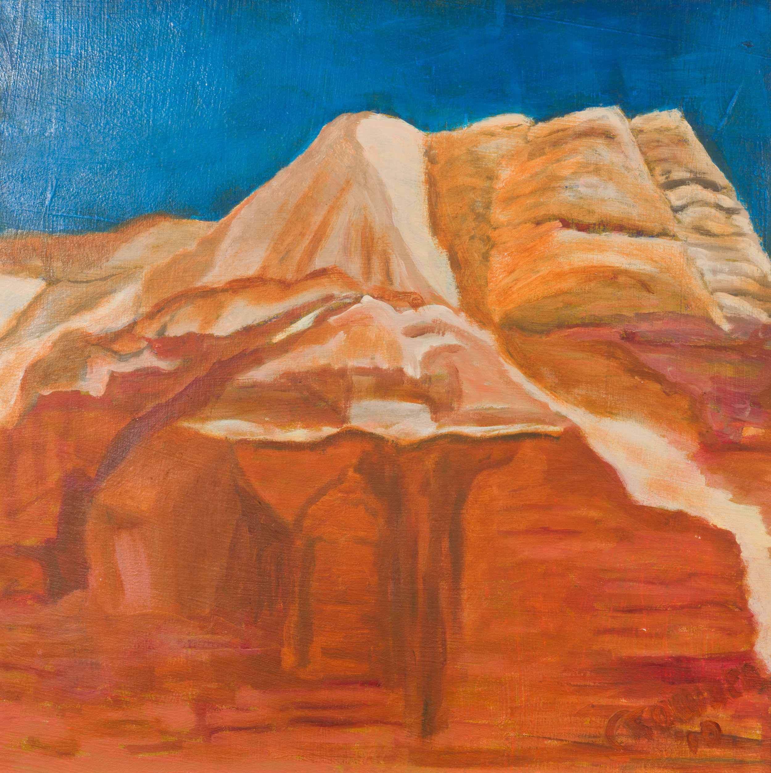 Torey, Utah oil on canvas 17.5x17.5  $330   .jpg