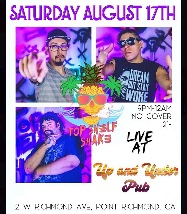 WHOA!!! We're taking a trip to NorCal this weekend for a show at @upandunderpub ...Richmond Friends, Join us for this...ONE NIGHT ONLY!!!! #pointrichmond #norcal #berkeley #california #rock #ska #punk #saturday #weekend #roadtrip