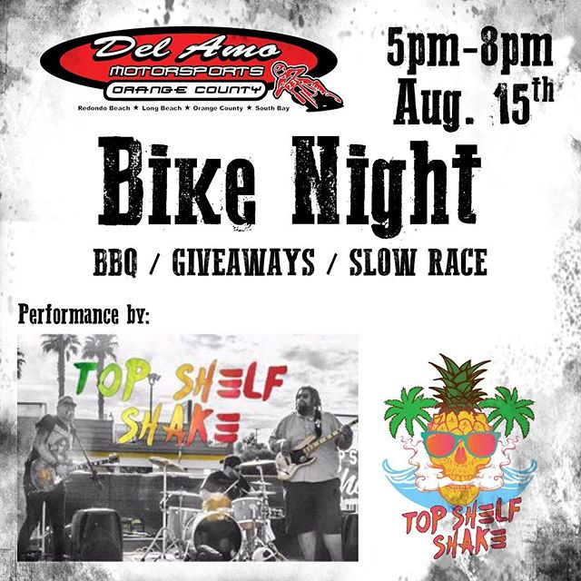 Doing an acoustic set at @delamoriders in Santa Ana today! Any friends or fans with a hog, stop by and check it out! #santaana #bikenight #delamomotorsports #motorcycle #thirstythursday #acoustic #livemusic