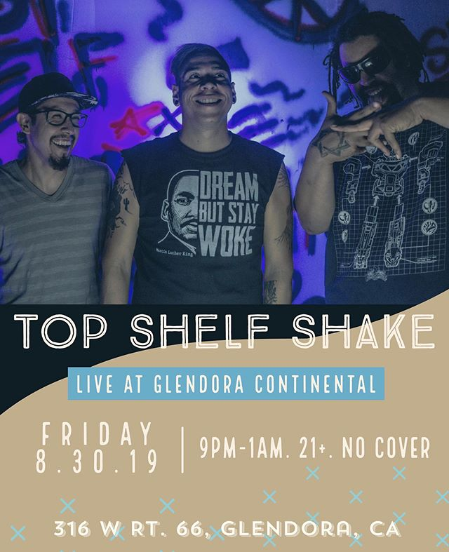 Well be back at @glendoracontinental  next Friday! What a way to end the summer! #glendora #fridaynight #party #rockshow #rock #ska #punk #livemusic #guitar #drums #bass #weekend #bar #drinks