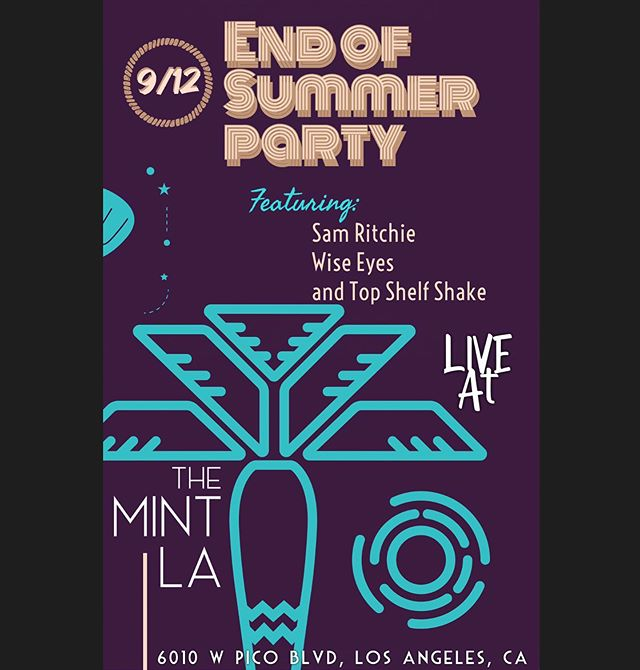 We're finally hitting up Los Angeles! We'll be bringing our brand of hard-hitting rock, punk and ska to @themintla on Thursday, Sept 12th! TICKET LINK IN BIO! #losangeles #la #downtown #socal #southerncalifornia #musicscene #livemusic #rock #ska #punk #themint #musicvenue