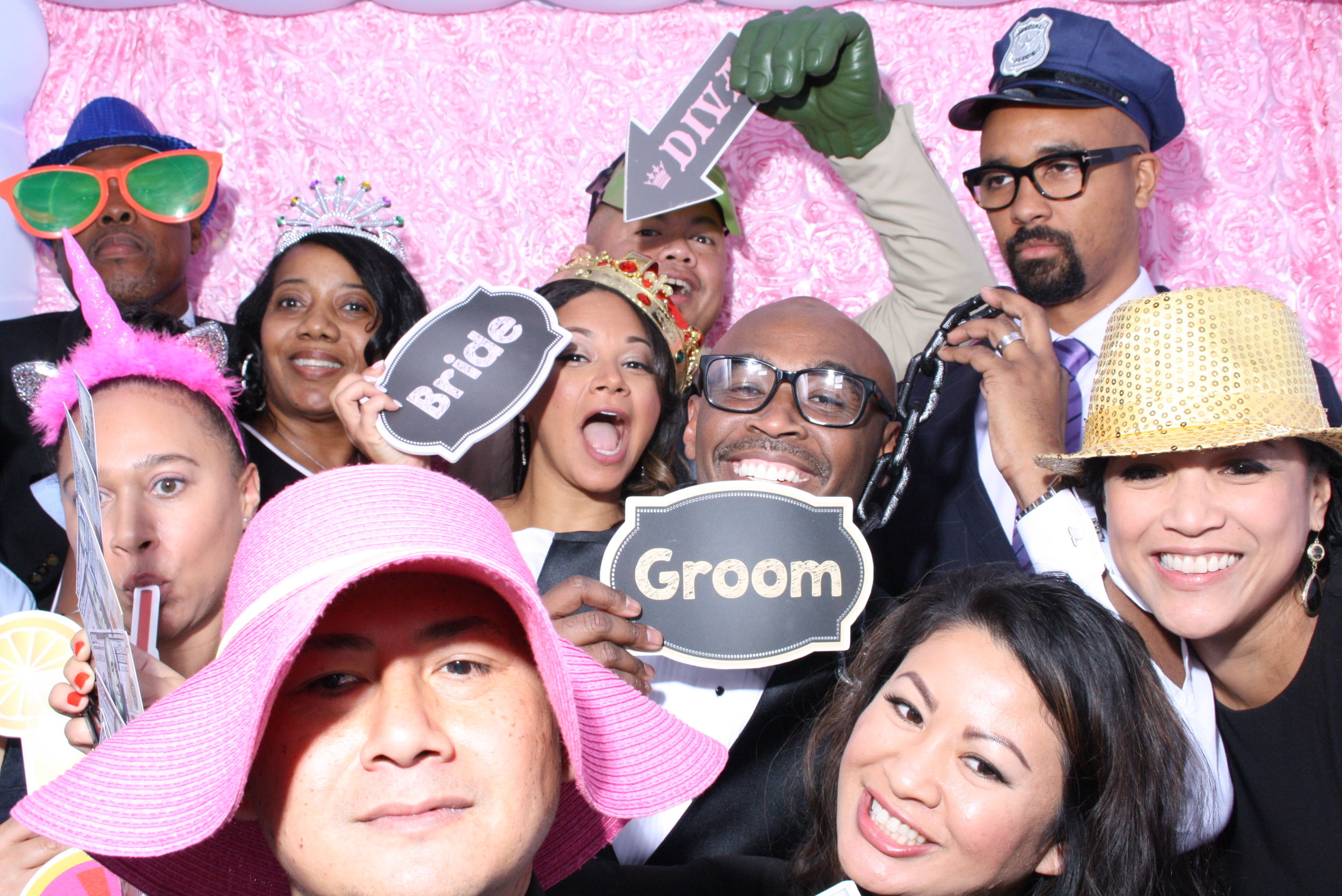 Photo Booth - There is nothing better than to capture fun moments at an event with memorable pictures. Our photo booth ensures you will get great fun photos to take with you forever. Our open booth, green screen, and/or special white cloud booth will be the talk of your party. Book with us today!