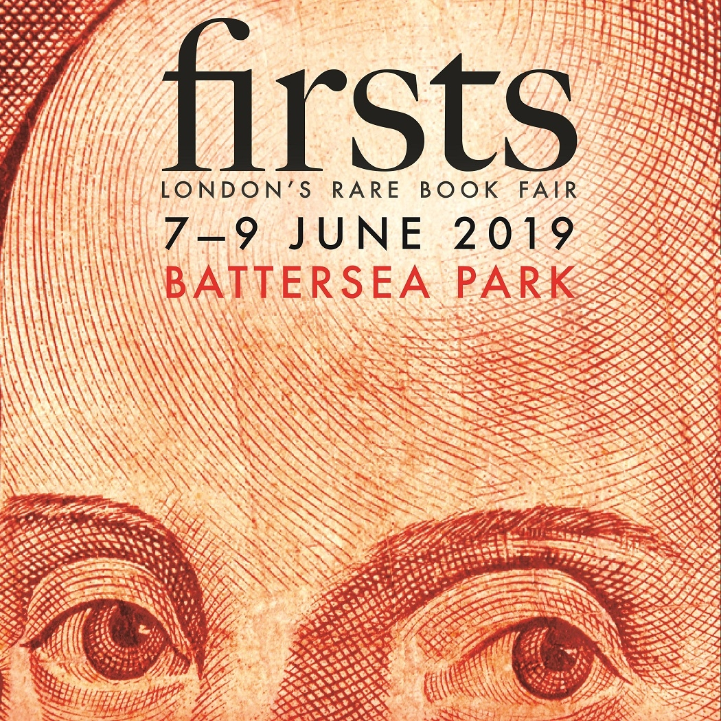 Visit the Exhibit - We have just returned from Firsts London, one of the most prestigious rare books fairs in the world! Doors opened to visitors from 7 – 9 June in beautiful Battersea Park. Watch for future updates!