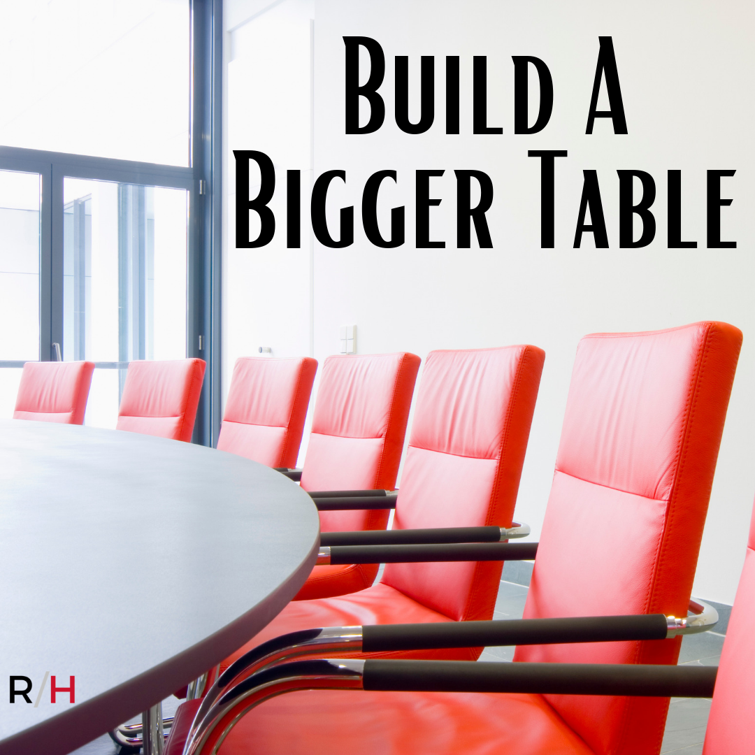 build a bigger table for women