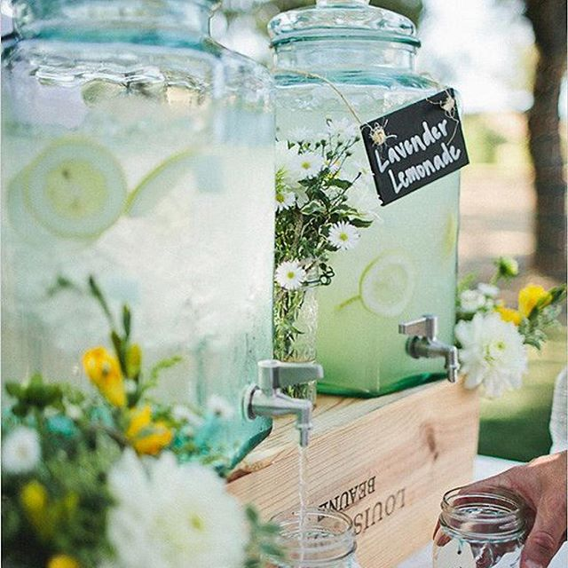 We love a great drink and a great bar, but our favorite part is bringing you the wedding, bachelorette party or birthday bash of your dreams. - What is one ingredient you'd have in your signature drink? 🍋 👇 - 📷: Pinterest