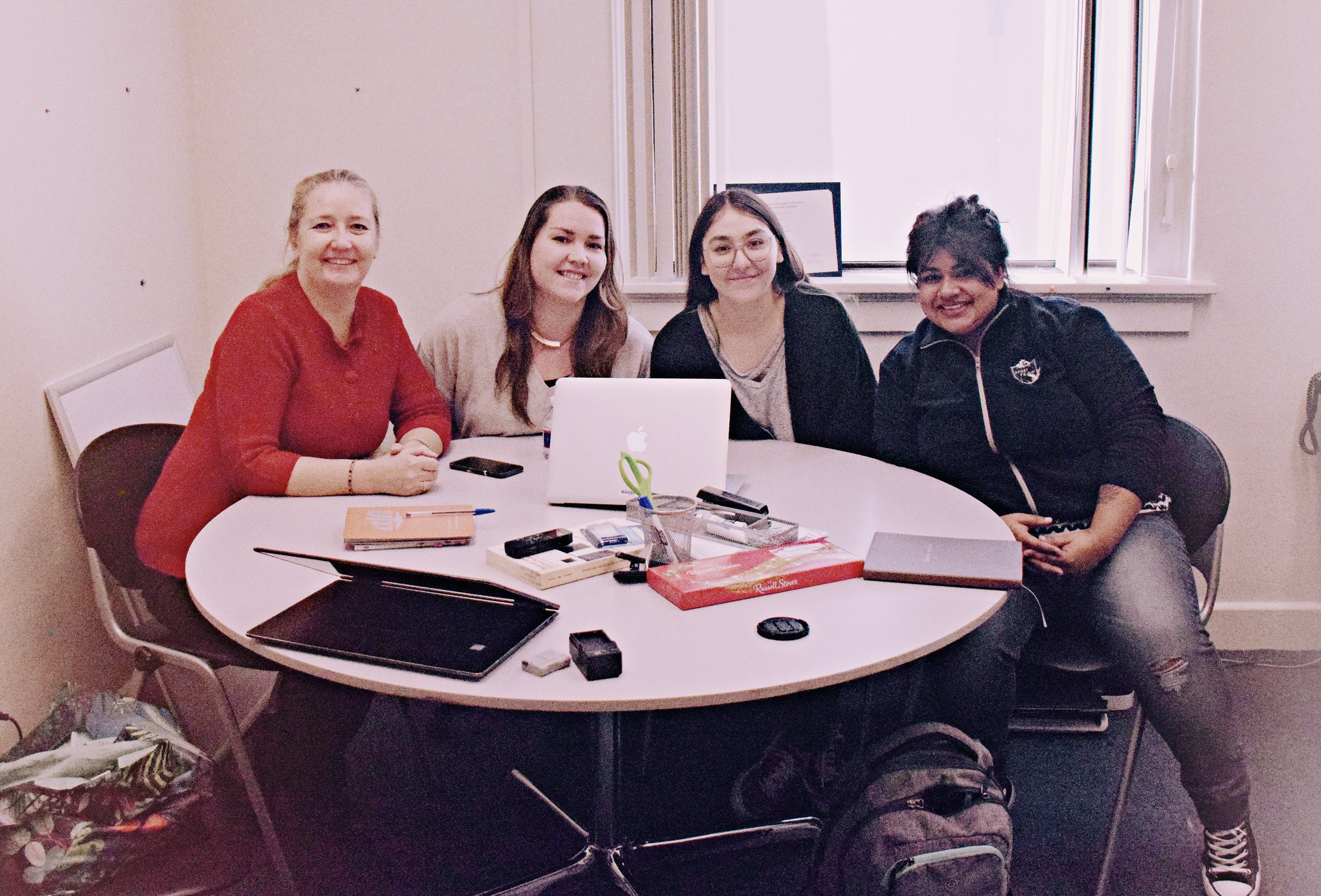 Women of color in computing - We are a team of students, faculty, and industry professionals who are helping one another in identifying constraints and affordances as women of color in computing. Click below to know more about us and the descriptions of our ongoing individual projects that we are building and making together critically and ethically.