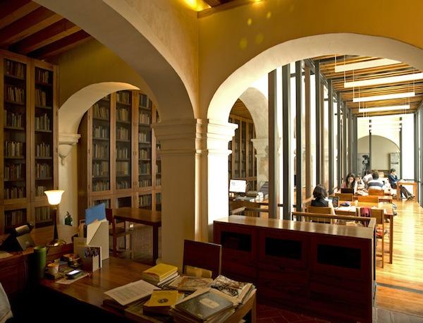 Juan De Cordova Public Library in Oaxaca, Mexico