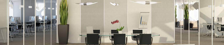 Rockfon® VertiQ™ wall absorbers