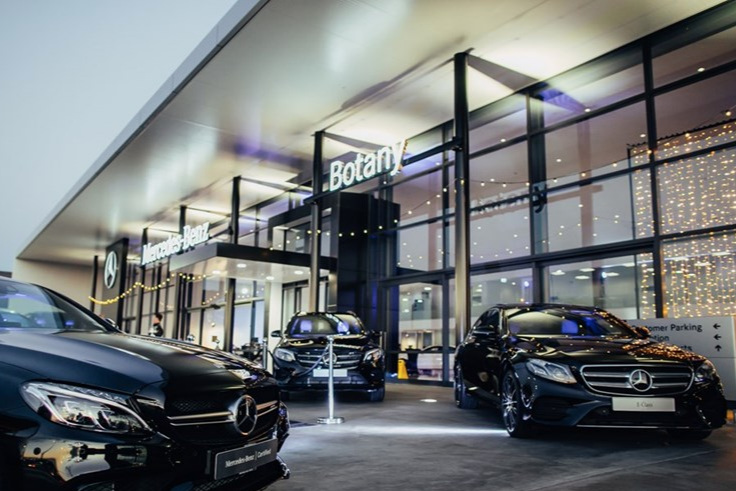 MERCEDES NEW SHOWROOM - BOTANY