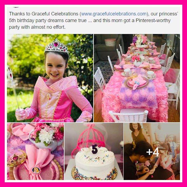 Love our client testimonial's! Delivering an unforgettable tea party experience for your princess is what we do. Fall and winter reservations at www.gracefulcelebrations.com #princessteaparty #mobileteaparty #etiquette #girlsteaparty