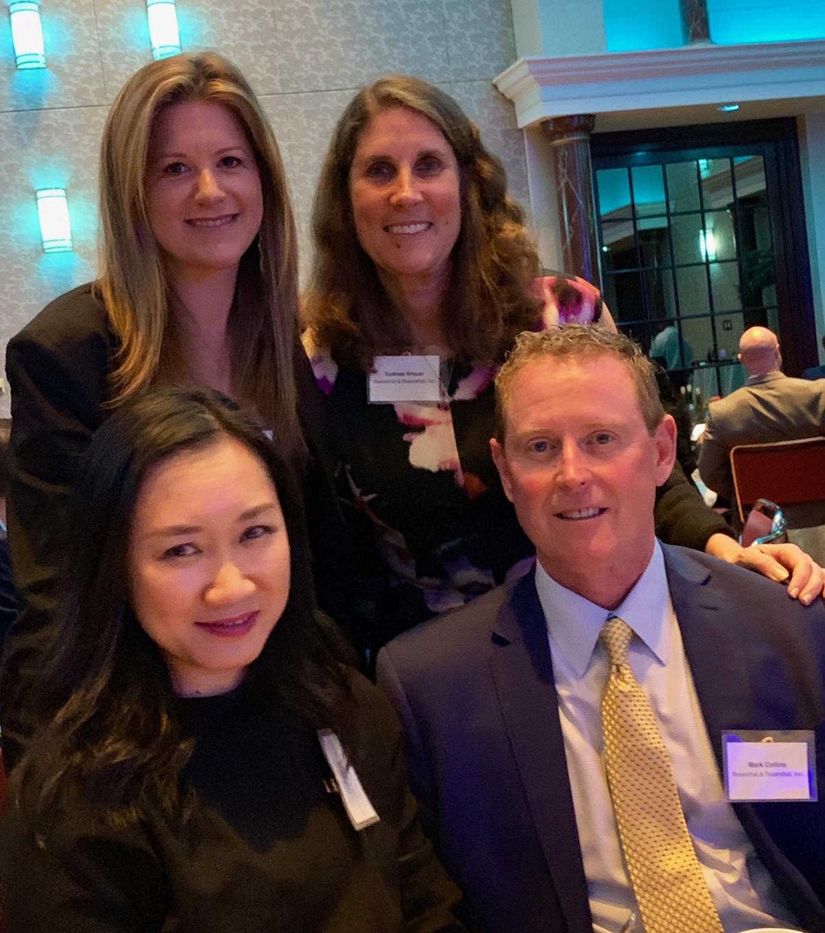 Cassie, Sydnee, Ying, and Mark at the City of Hope's International Home Furnishings Industry 2019 Spirit of Life Award Dinner on Sunday April, 7th in Greensboro, NC. It was a great night supporting the honorees and this incredible organization which raised 3.6MM!