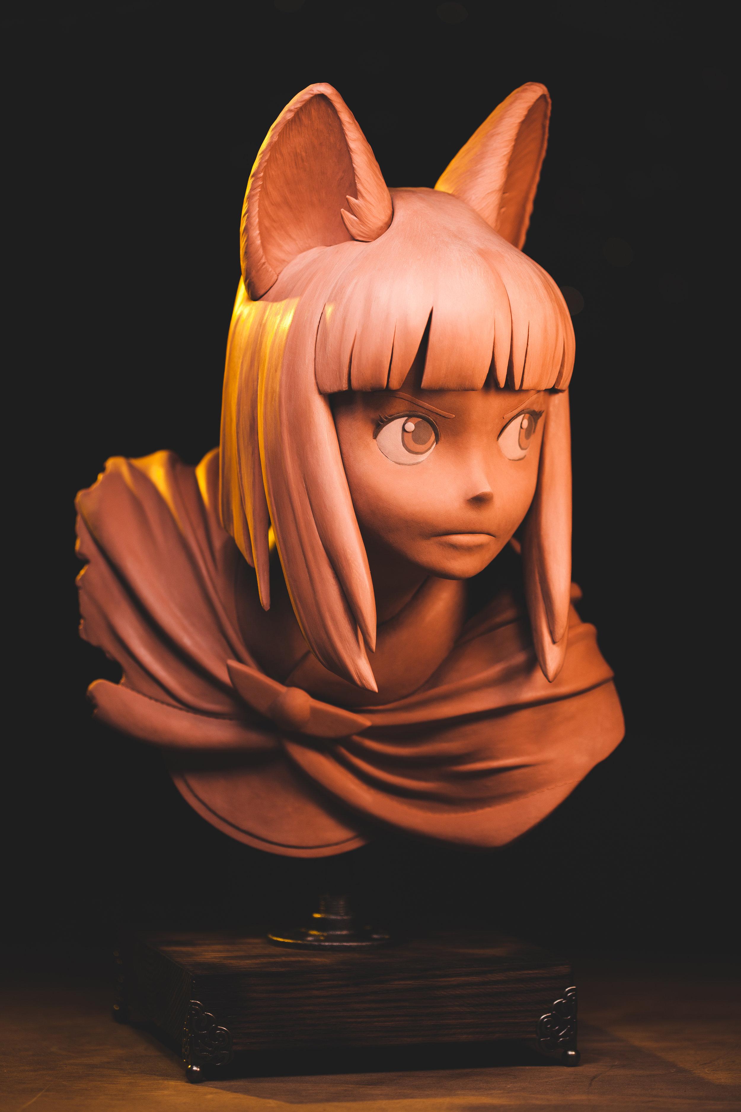 Evan Ni No Kuni Sculpture_Geek Chris Vierra (7).jpg