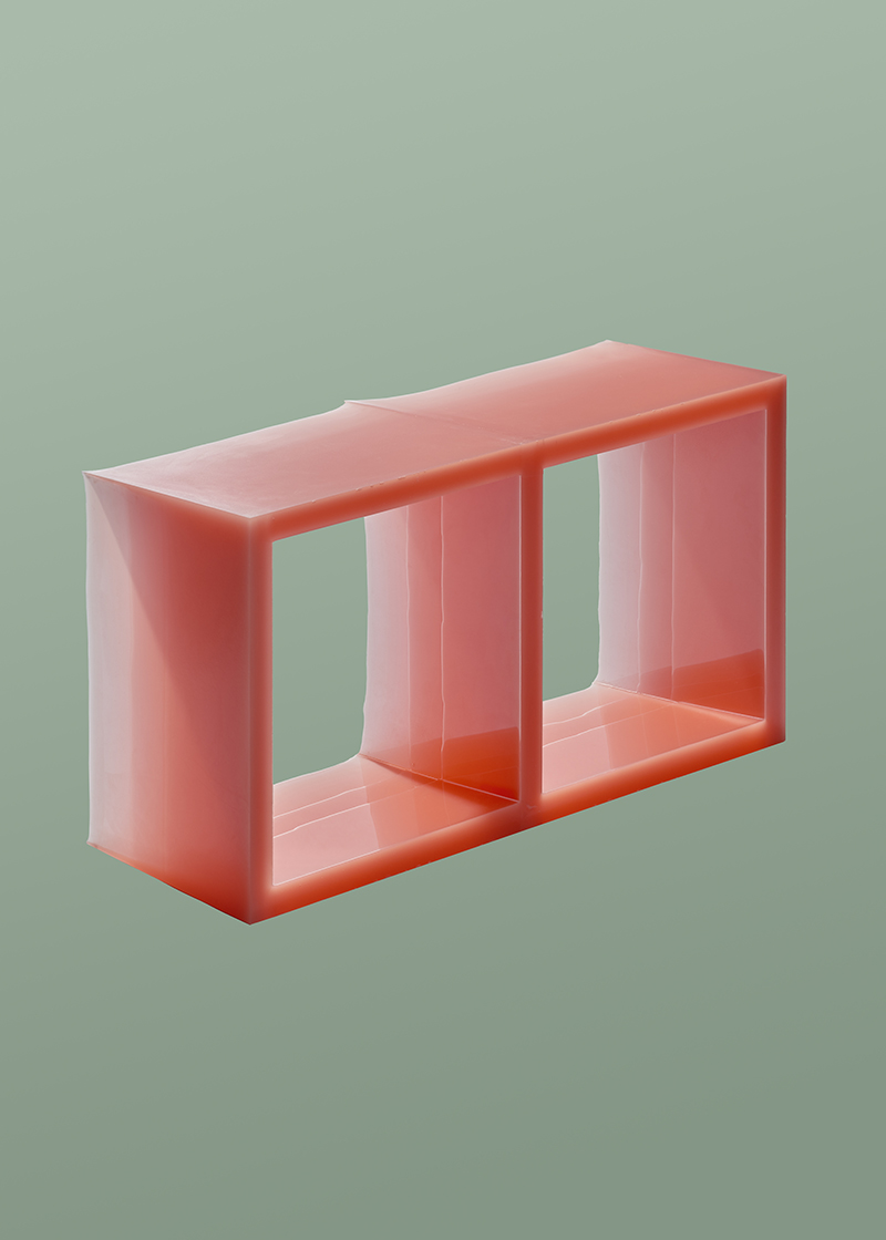 Pink coffee table ‐ The once liquid plastic by Julien Manaira ©pimtop.jpg