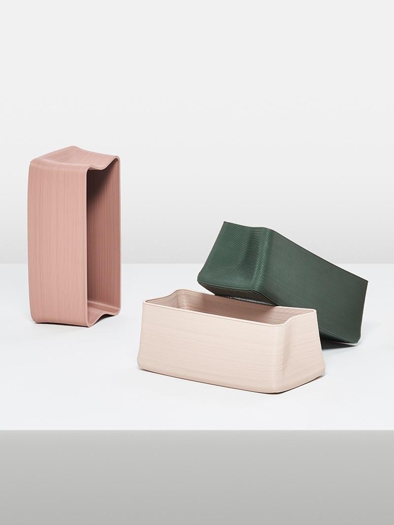 Elastic Bags and Stools by Shinya Yoshida