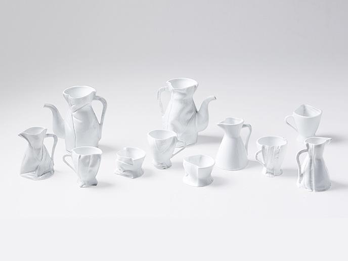 Fabric Formula Tea Set by Zhang Zhekai