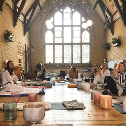 sound healing courses & sound therapy training -