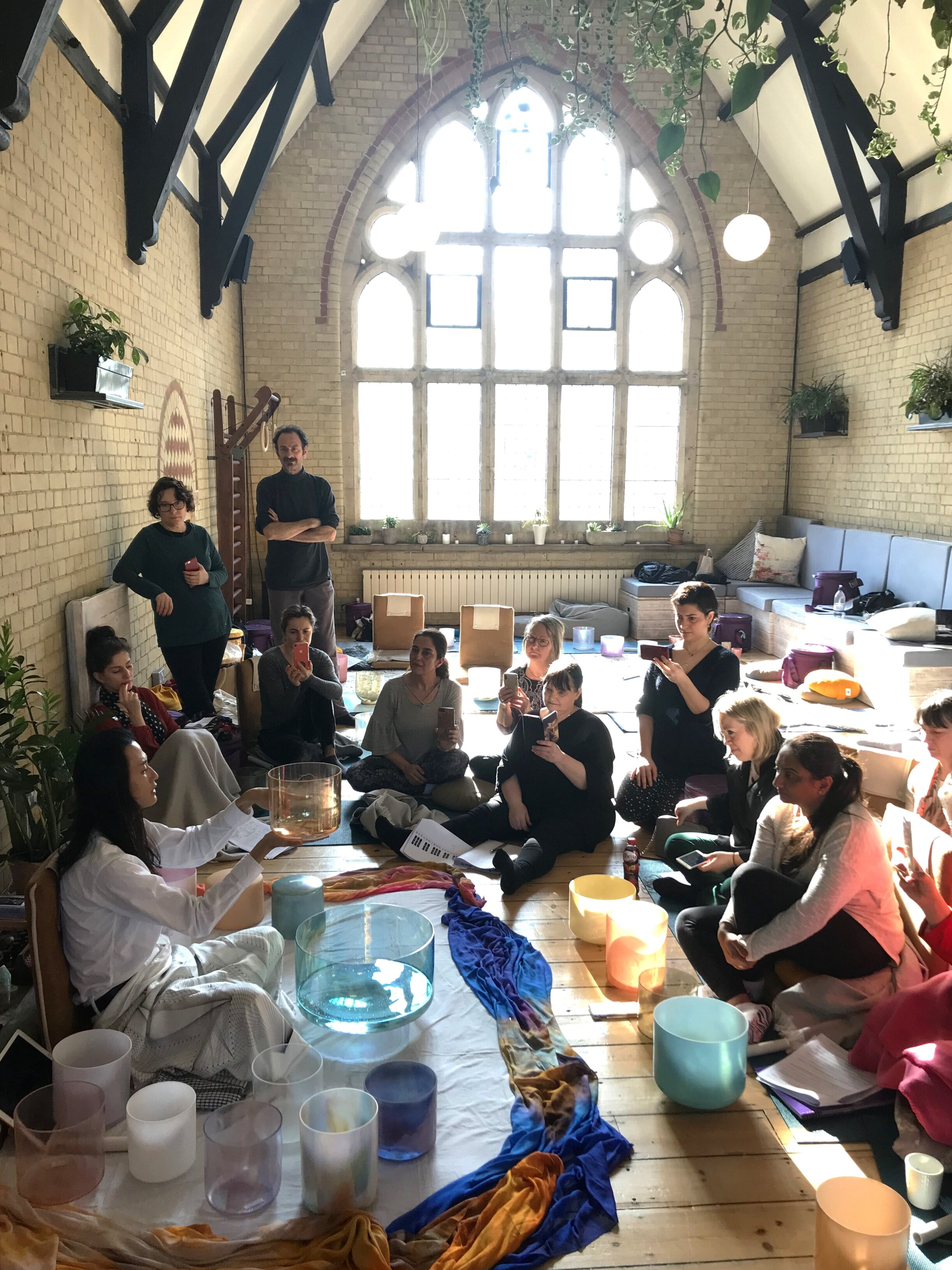 ALCHEMY CRYSTAL SINGING BOWLS LEVEL 2 TRAINING - A two day course to advance your sound healing and sound medicine knowledge.> Level 2 Training 2019> Level 2 Training 2020