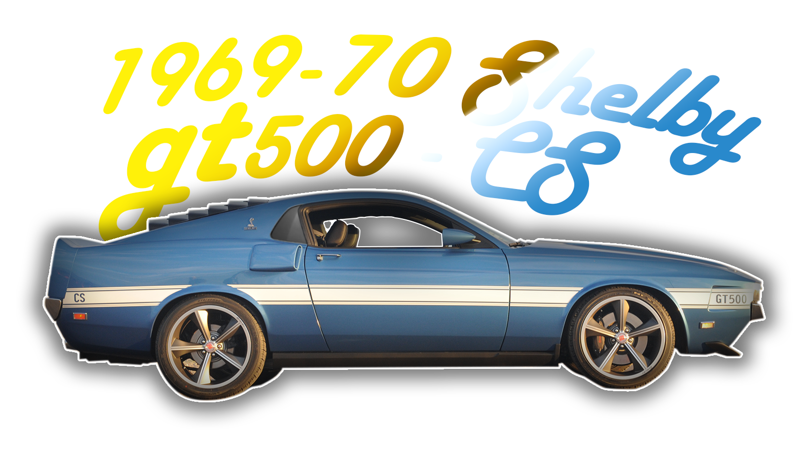 1969-70 Shelby GT500-CS
