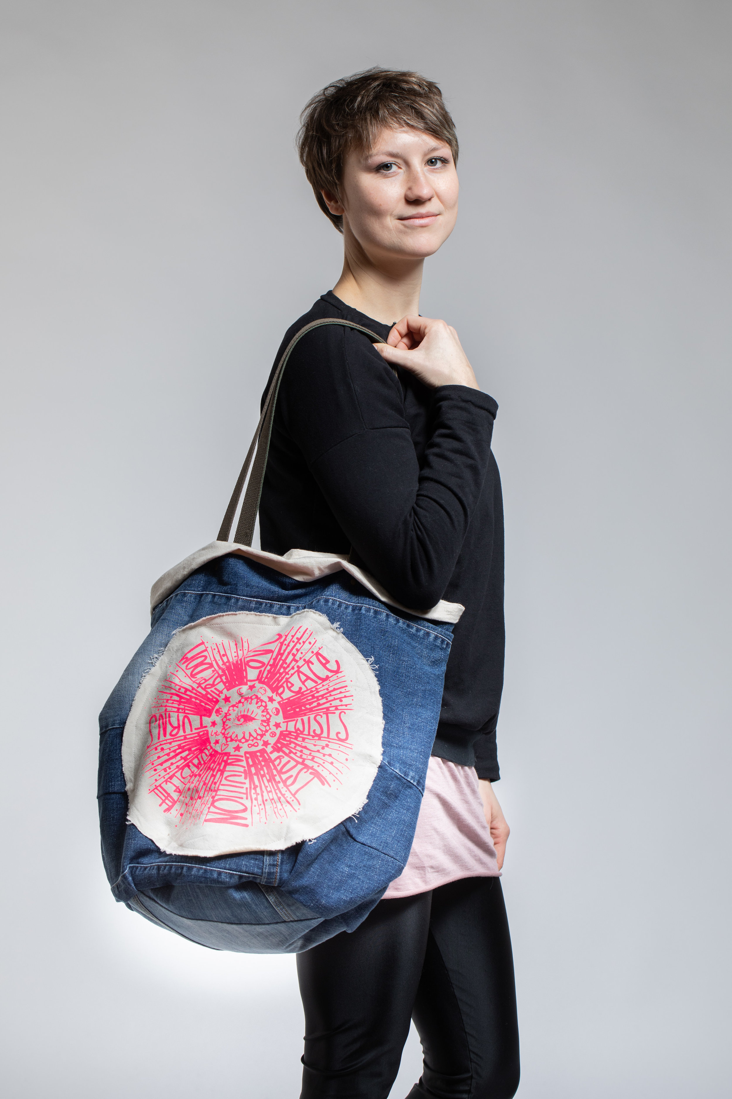 twists and turns bag the cure wearing.jpg