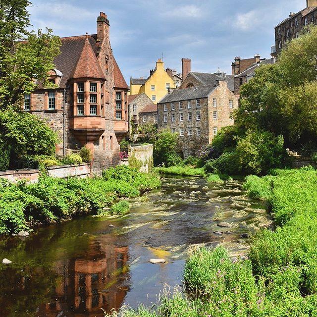 Dean Village, Edinburgh #deanvillageedinburgh #edinburgh #loves_edinburgh #instascotland #explorescotland #capturingbritain #ig_edinburgh #edinburgh_snapshots #myedinburgh #thisismykingdom #scenicbritain #yourscotland