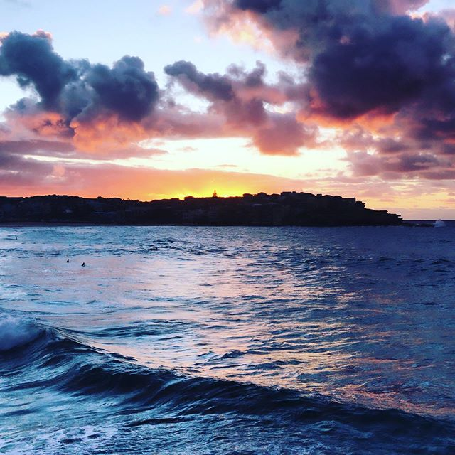 View from this mornings workout 🌅 📷@daisy_cobcroft