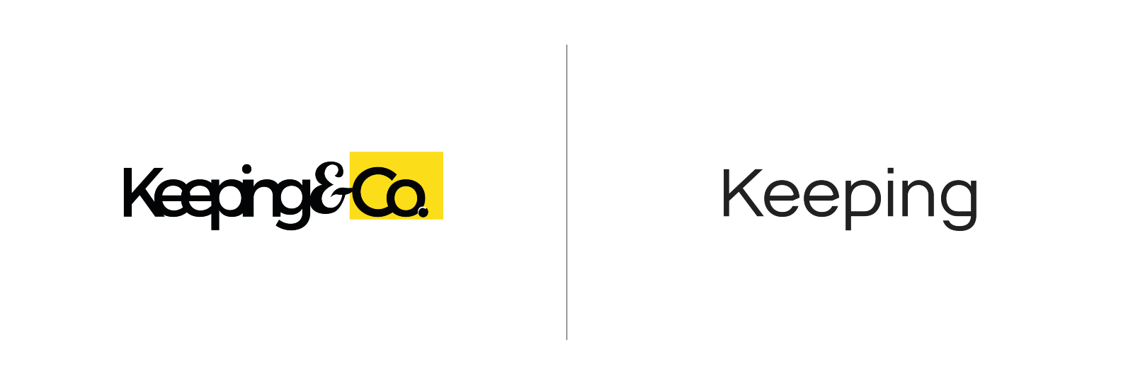 Keeping&Co. has revealed a new brand identity for 2018; pivoting their focus and creating a new vision for the studio, which involves a more quality driven and creative future — inline with their new look as 'Keeping'.