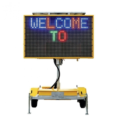 Variable Message Sign (VMS) - 4 Colour