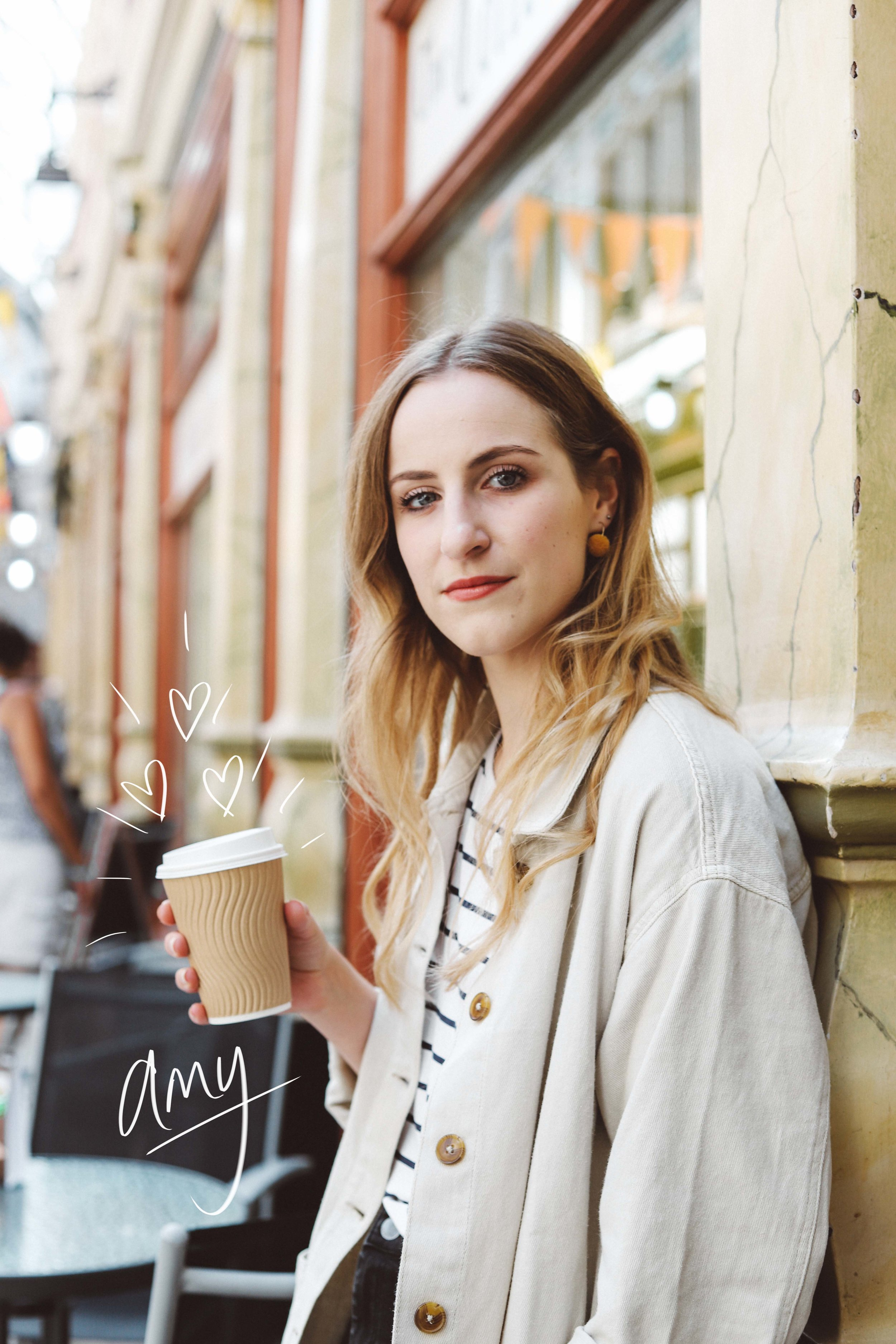 Amy got stuck in straight away and had so many ideas to tell me, which is always so helpful when shooting! She's also a fellow coffee and plant lover. B:  https://www.callmeamy.co.uk  I:  https://www.instagram.com/callmeamye/