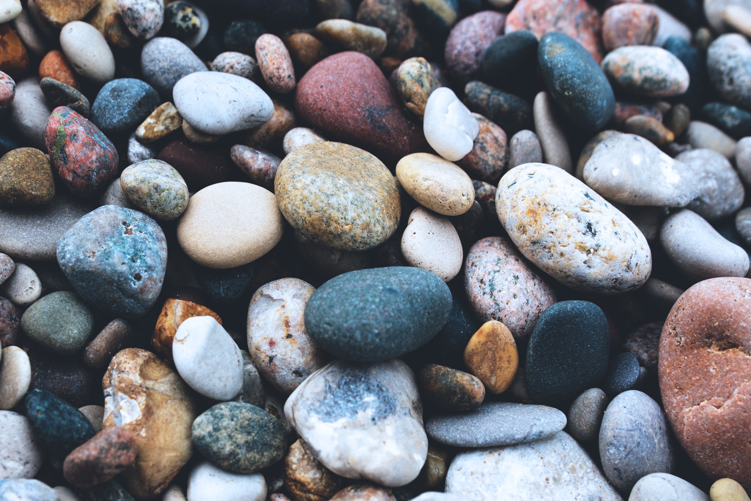 I offer creative approaches such as inviting the client to select pebbles to represent people in their lives, feelings they are struggling with, or different options in a difficult decision, for example, to achieve a depth of understanding. Most clients find this strange at first, but are surprised at how much insight it creates.