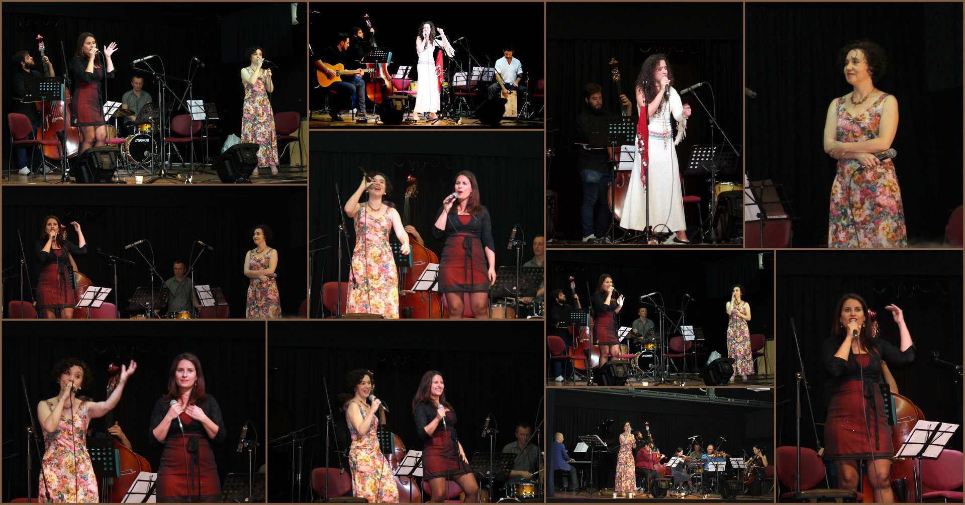 New original songs by Lana Sokolov, Faustina Abad and Orly Solomon with orchestra at Harmony Hall, Jerusalem