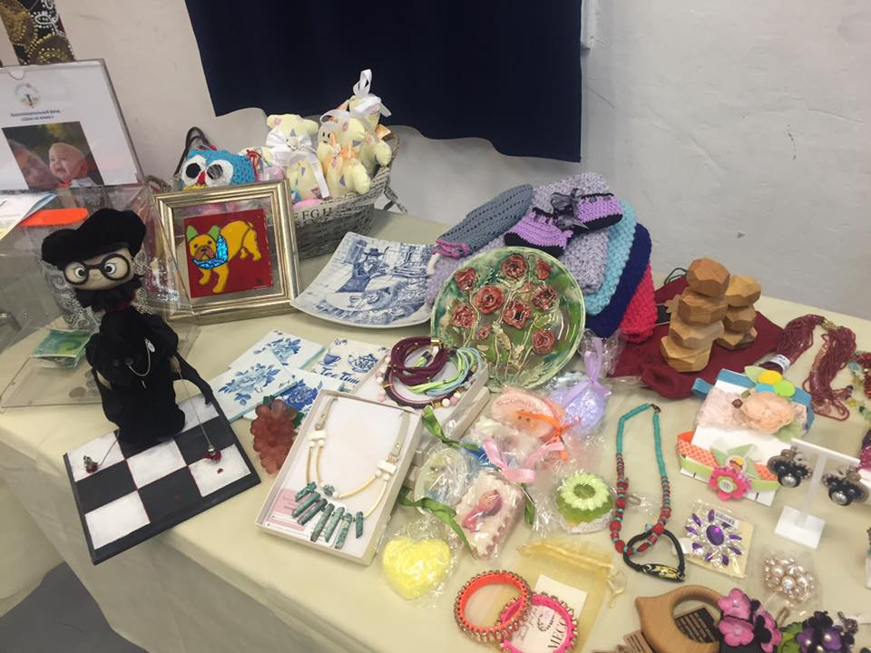 "Art/Craft Fair by Female Artists for Non-Profit Organisation ""Chance for Life"""