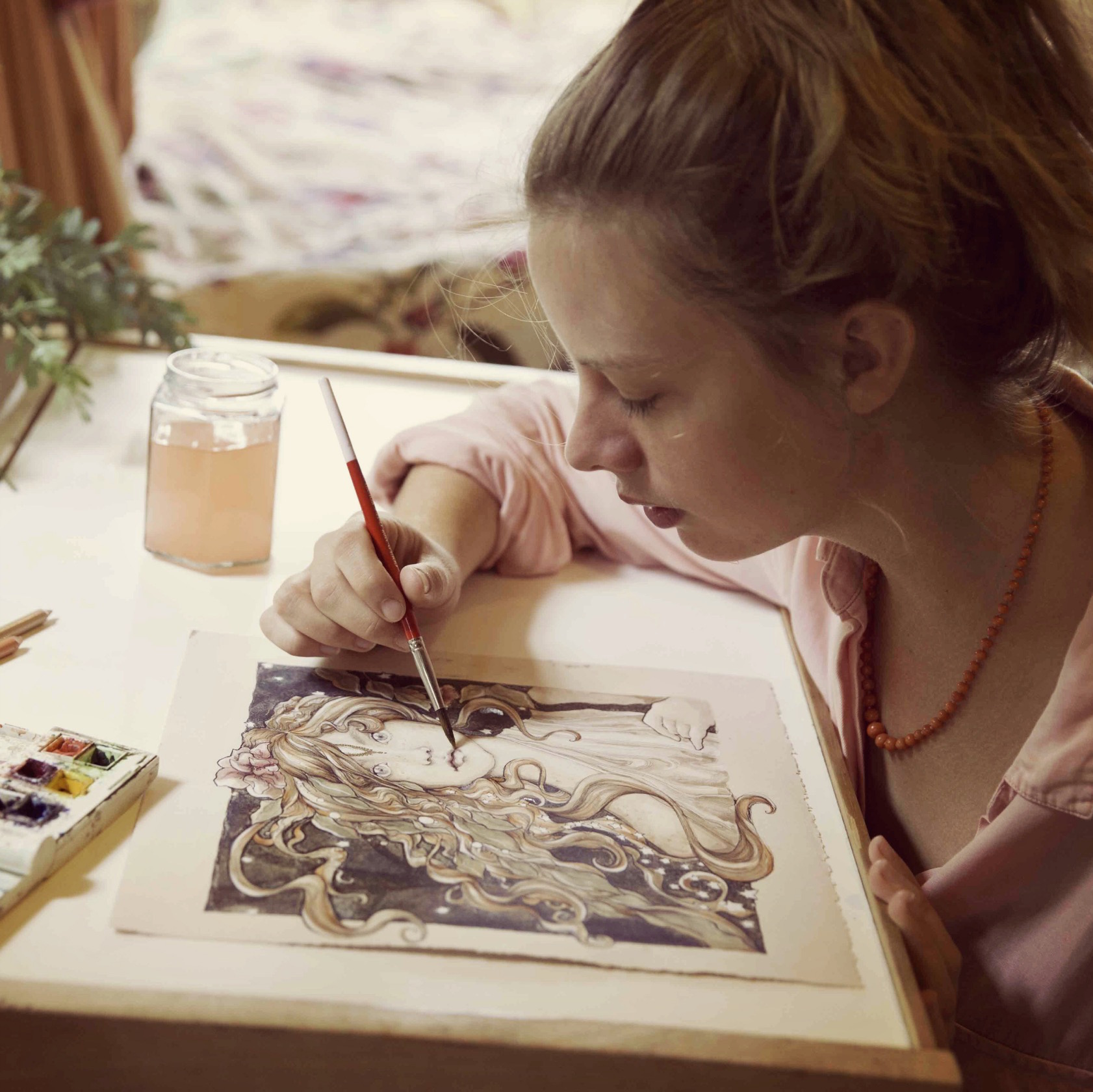 Beautiful Australian illustrator and custom made art