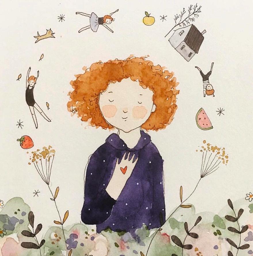 Dear Kia Maddock Beautiful Australian Artist and CHildren's book illustrator.jpg