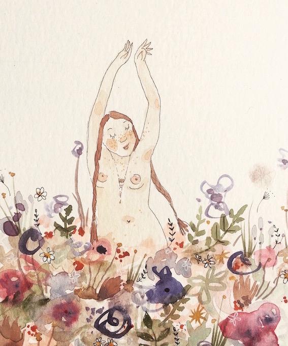 The Ocean is a Wildflower Dear Kia Maddock Illustrator Artist.jpg