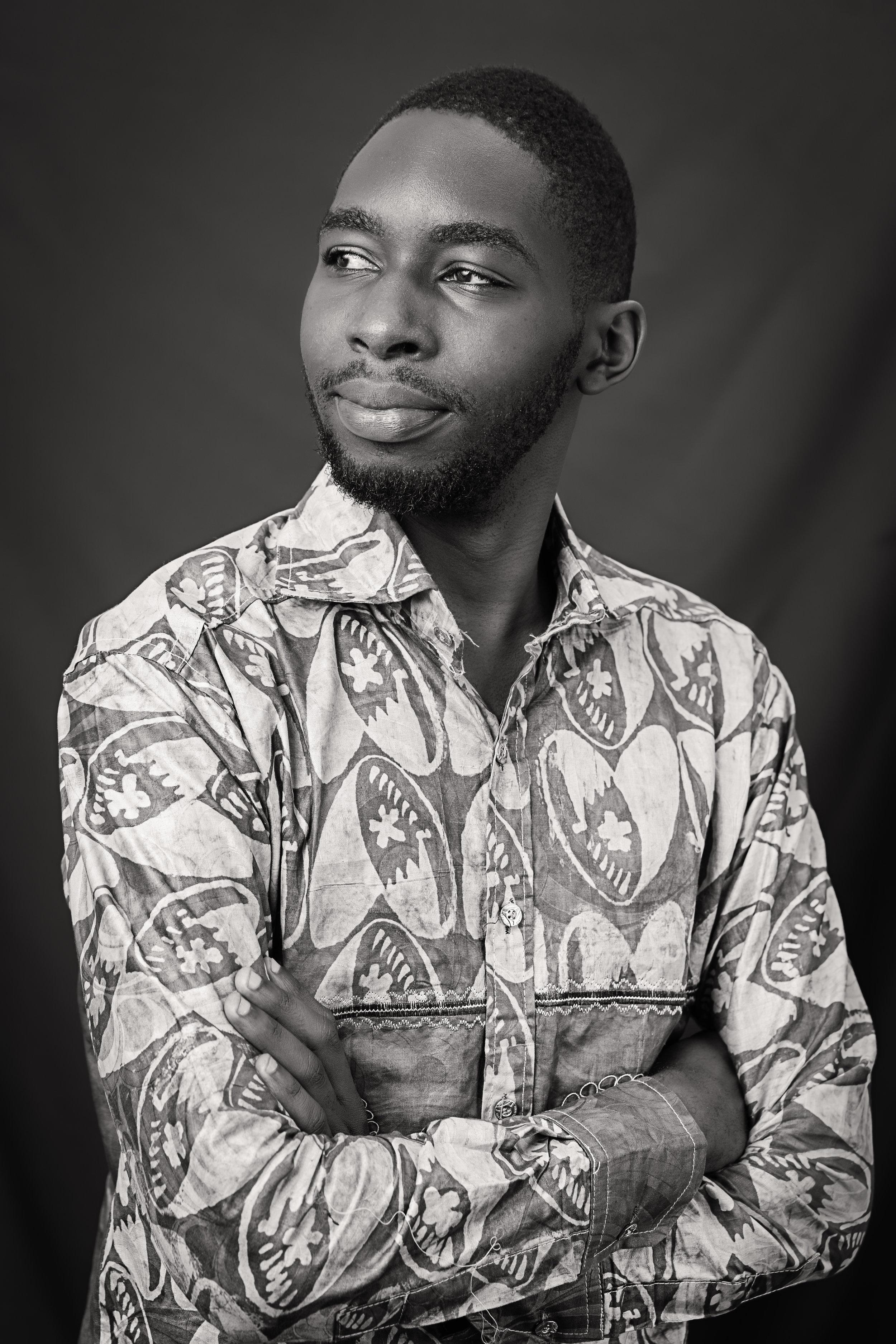 Portrait taken by    Guy Basabose    |    @Guy_Basabose