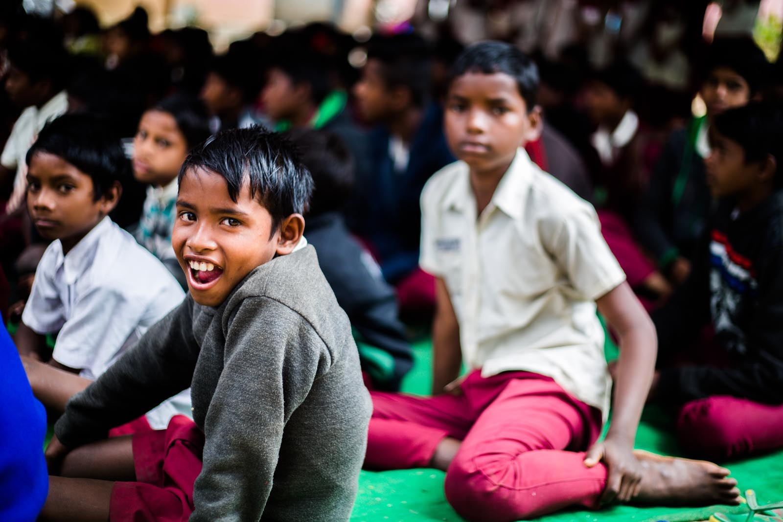 It is a really serious problem. - Millions of Indian children don't develop proper immunity, eyesight or cognition. They suffer from anemia, weak bones, muscle atrophy, and prolonged sickness.There was an urgent need to create nutrition that would be easily available to children in school.
