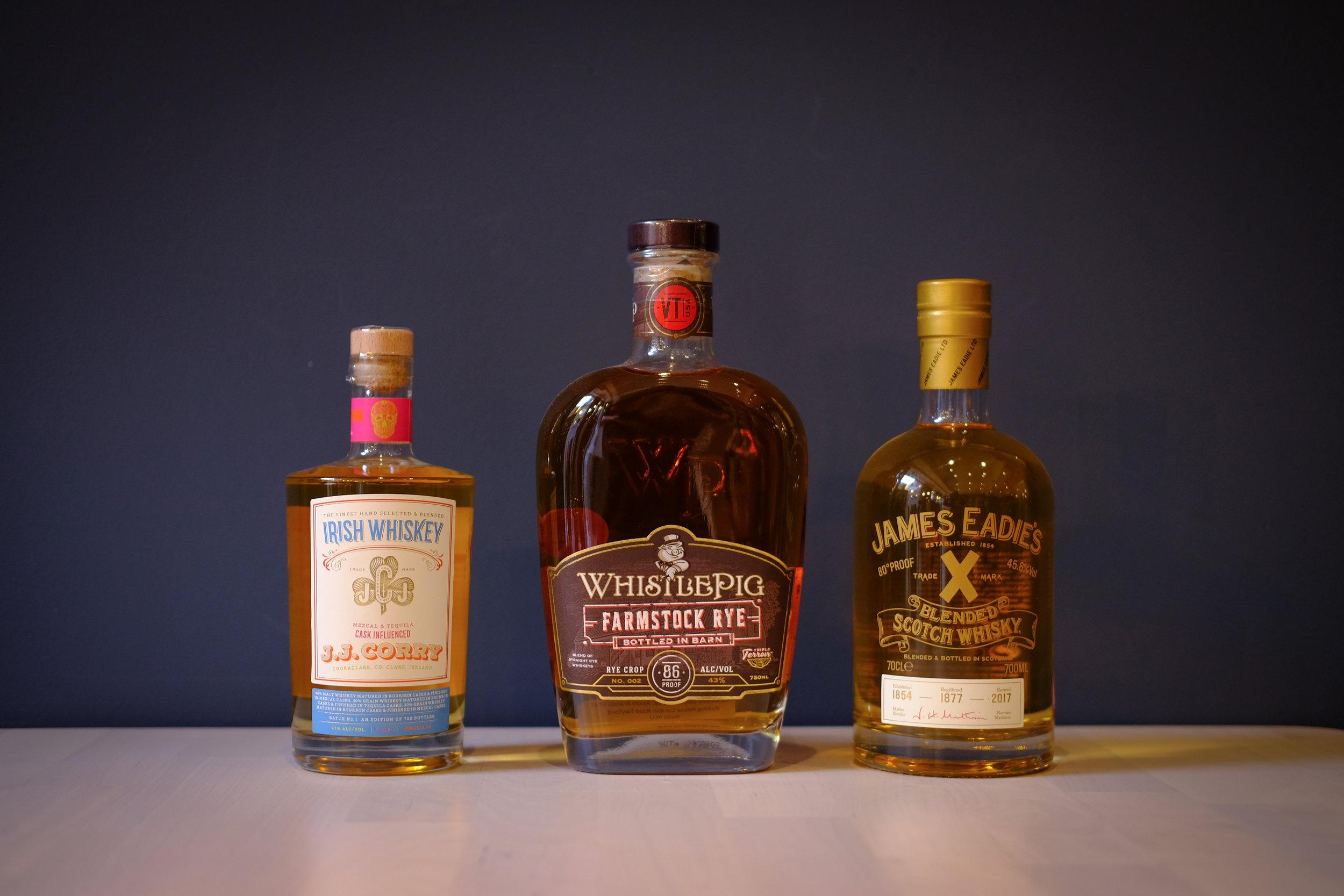 whisky-whiskey-jjcorry-whistlepig-jameseadie-scotch-farmstock-kingston