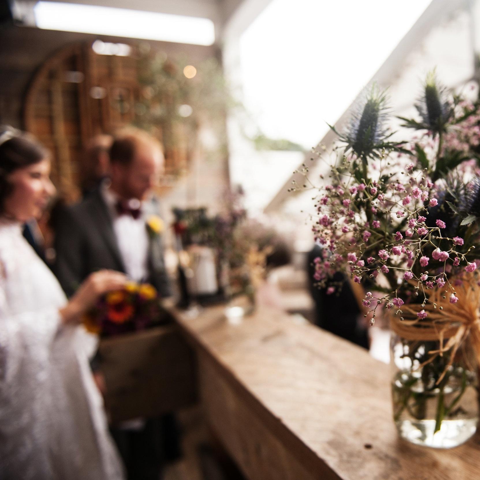 - A hackney warehouse wedding