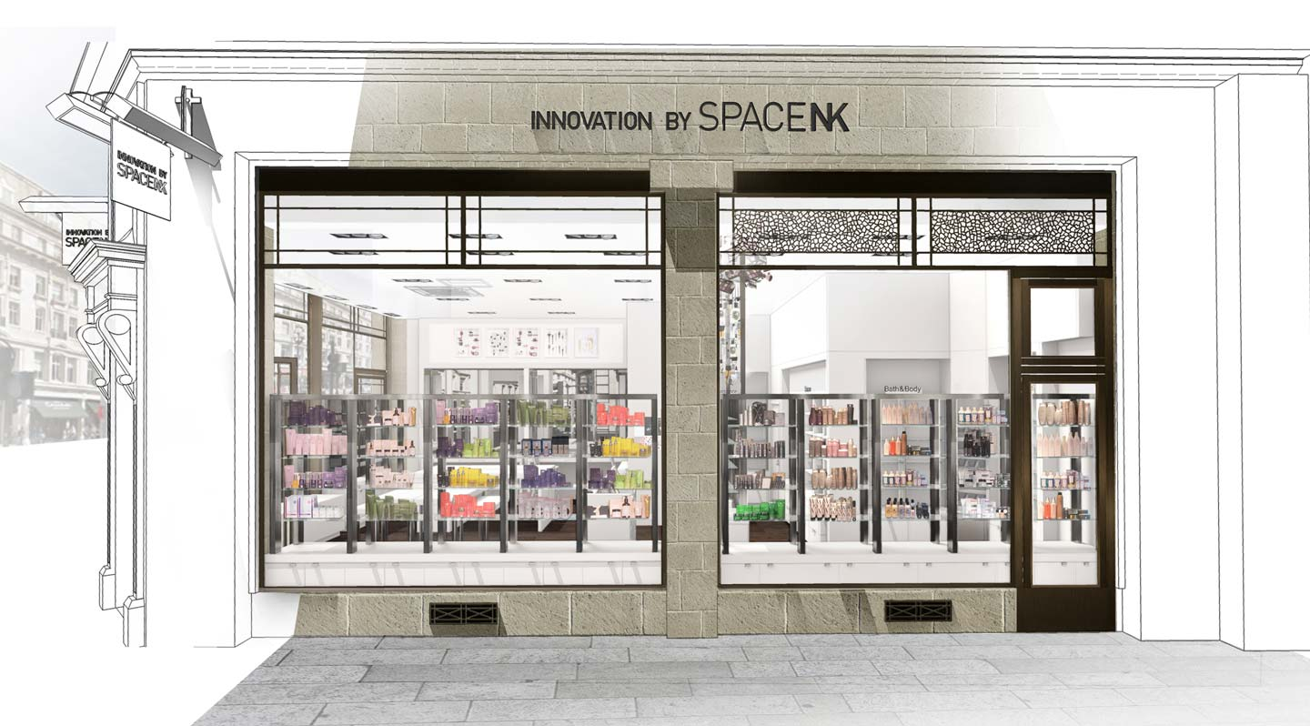 Space NK Regent Street Visual
