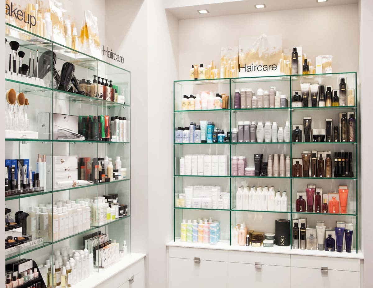 Space NK Regent Street Shelves