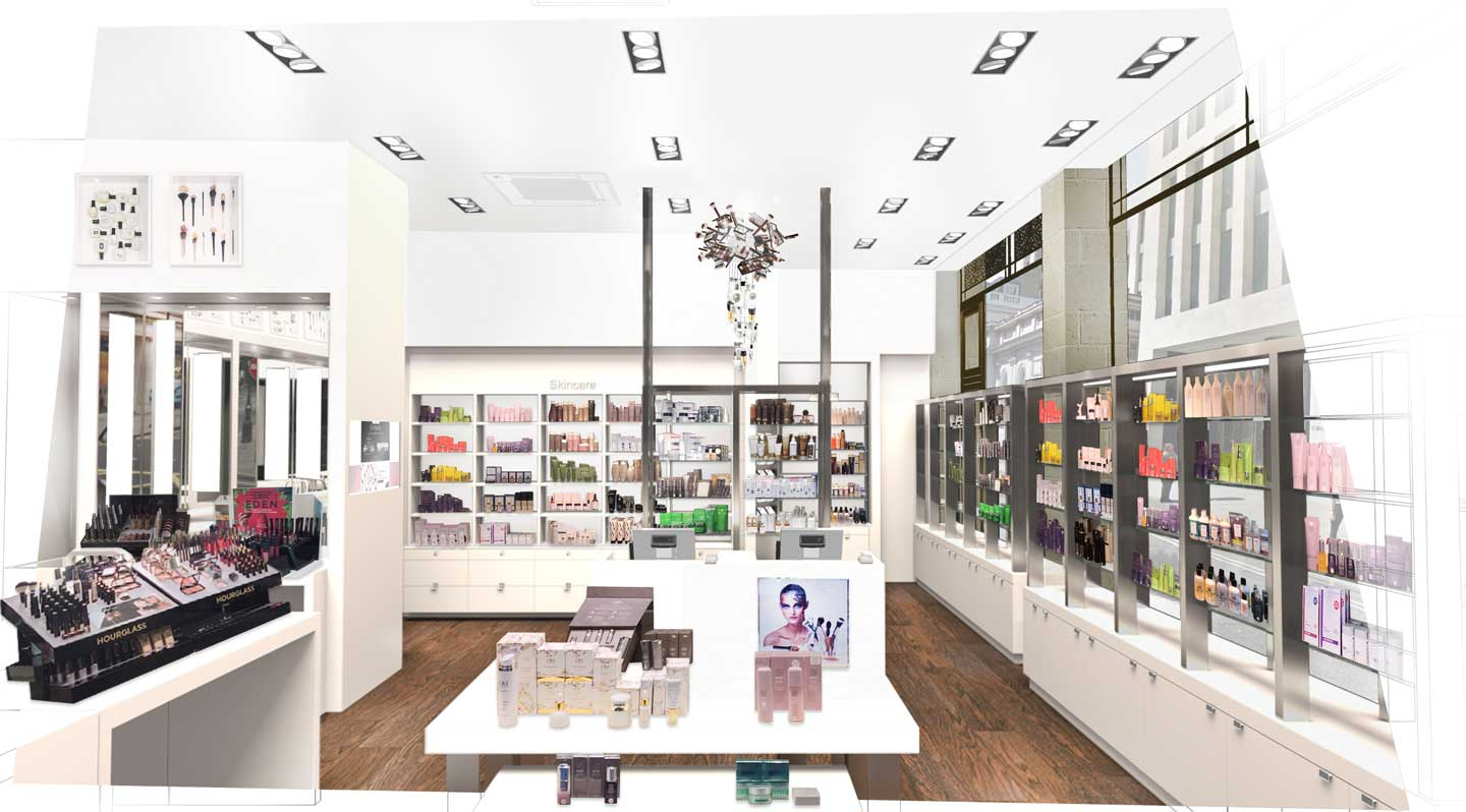 Space NK Regent Street Visuals