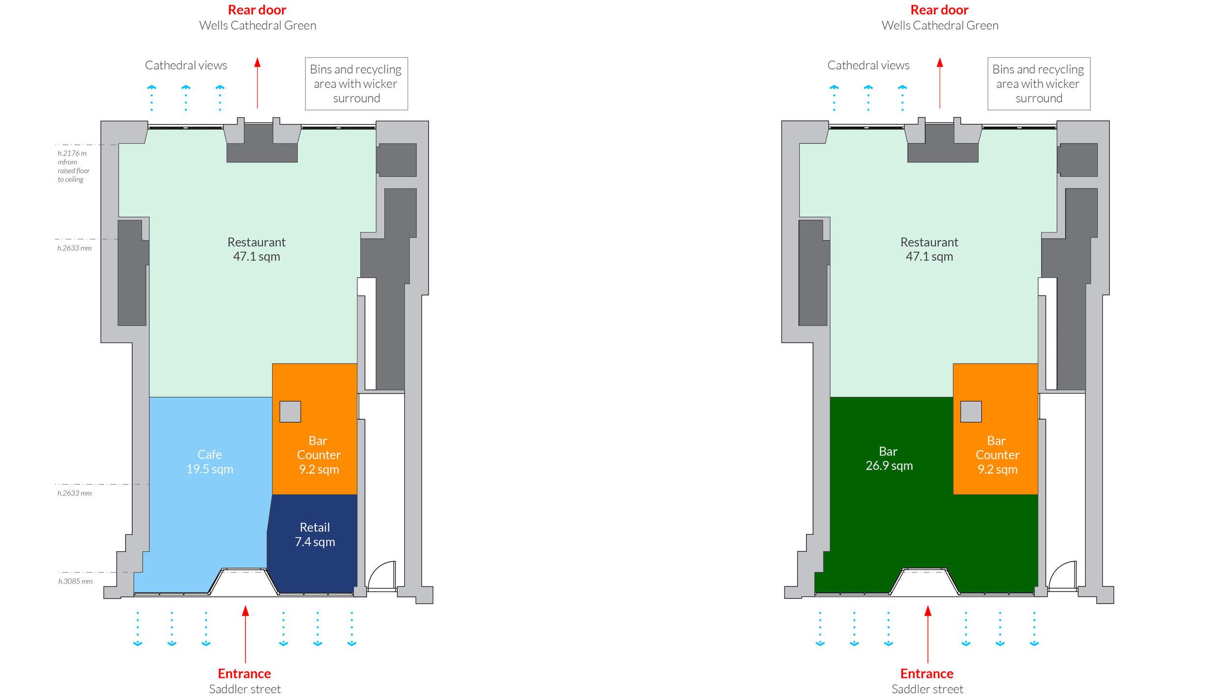 Ensemble Wells Restaurant Plans