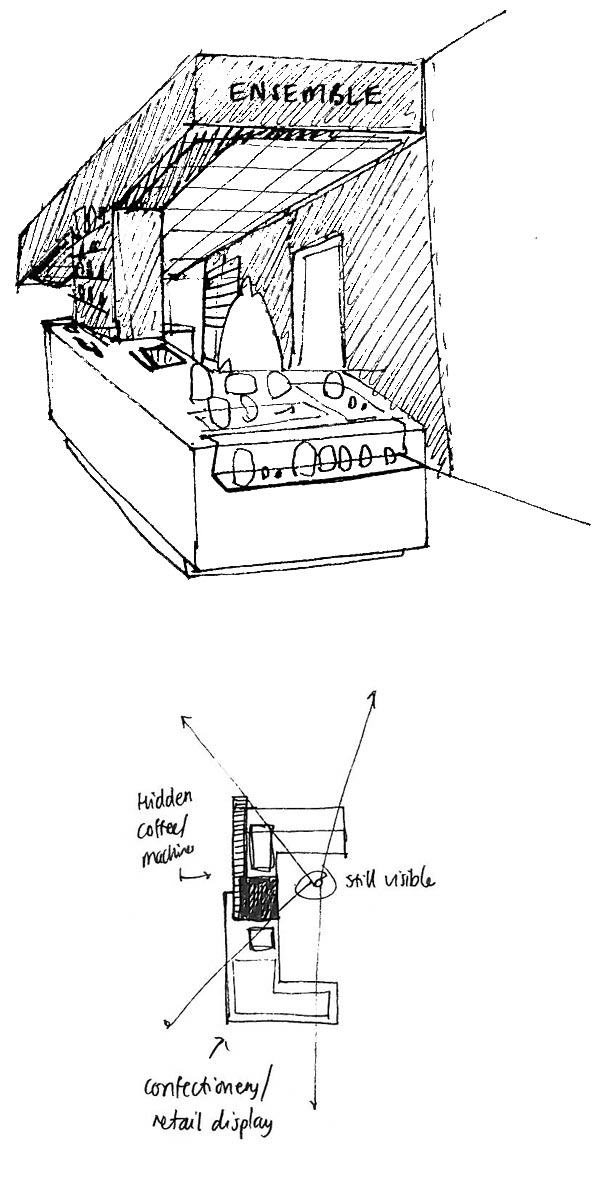 Ensemble Wells Restaurant Sketches