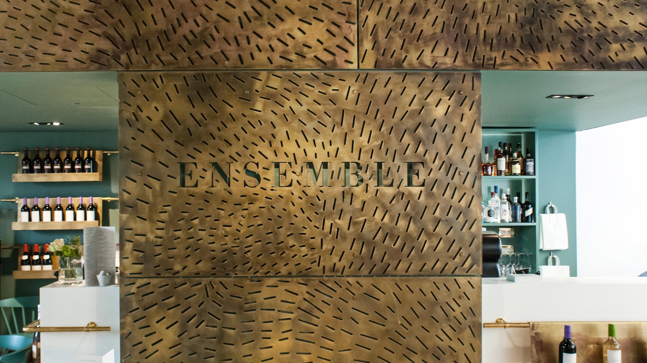 Ensemble Wells Restaurant Brass Detail